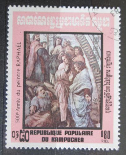 Poštovní známka Kambodža 1983 Umìní, Raffael Mi# 482