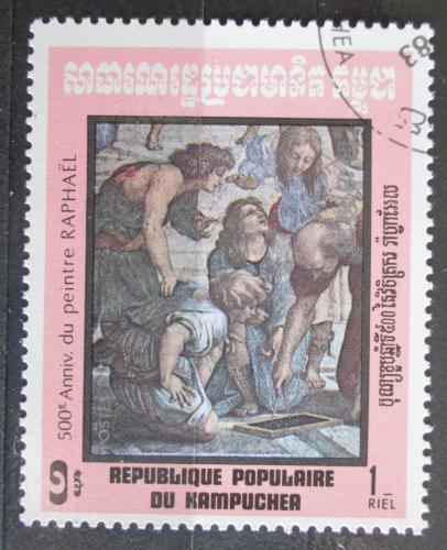 Poštovní známka Kambodža 1983 Umìní, Raffael Mi# 483