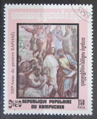 Poštovní známka Kambodža 1983 Umìní, Raffael Mi# 484