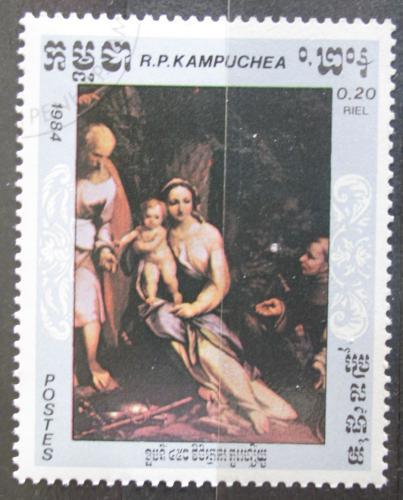 Poštovní známka Kambodža 1984 Umìní, Correggio Mi# 620