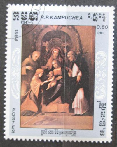 Poštovní známka Kambodža 1984 Umìní, Correggio Mi# 622