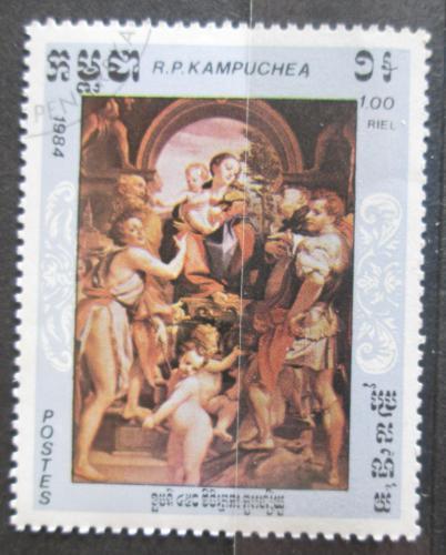 Poštovní známka Kambodža 1984 Umìní, Correggio Mi# 623
