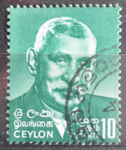 Poštovní známka Cejlon 1968 Premiér Senanayake Mi# 372