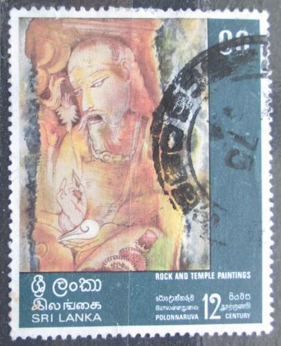 Poštovní známka Srí Lanka 1973 Náboženské umìní Mi# 435
