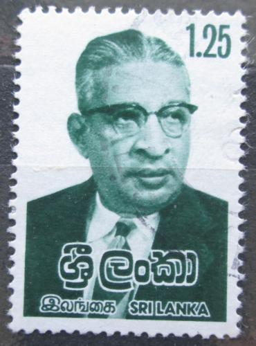 Poštovní známka Srí Lanka 1979 Dudley Shelton Senanayake, premiér Mi# 500