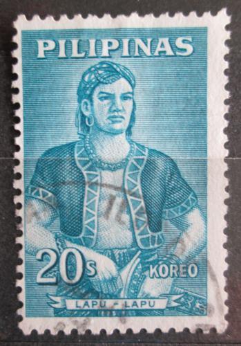Poštovní známka Filipíny 1963 Král Lapu-Lapu Mi# 702
