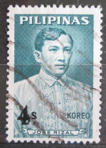 Poštovní známka Filipíny 1967 José Rizal pøetisk Mi# 826