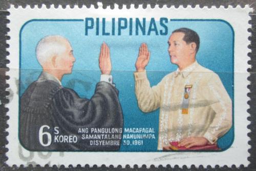 Poštovní známka Filipíny 1962 Prezident Diosdado Macapagal Mi# 707
