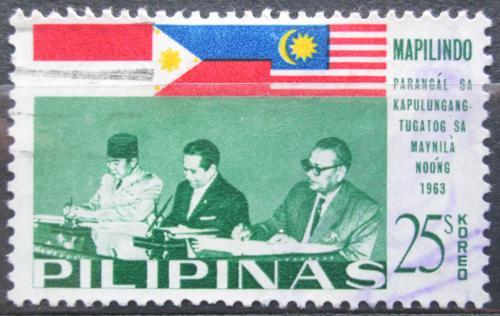 Poštovní známka Filipíny 1965 Konference MAPILINDO Mi# 789