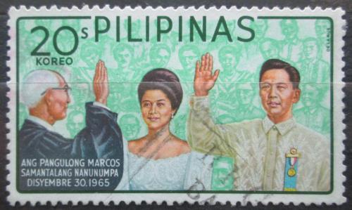 Poštovní známka Filipíny 1966 Prezident Ferdinand Marcos Mi# 804