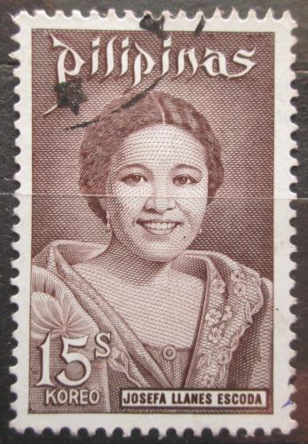Poštovní známka Filipíny 1973 Josefa Llanes Escoda, skautka Mi# 1071