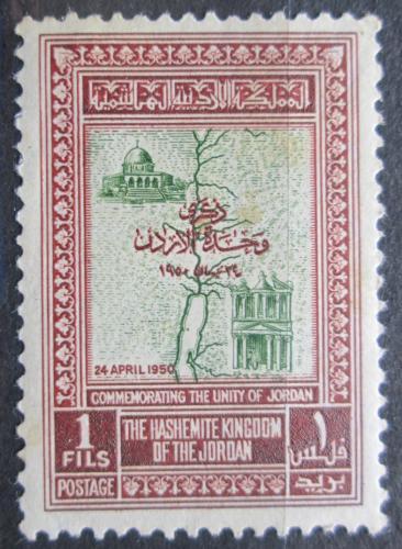 Poštovní známka Jordánsko 1952 Jordánská jednota Mi# 242