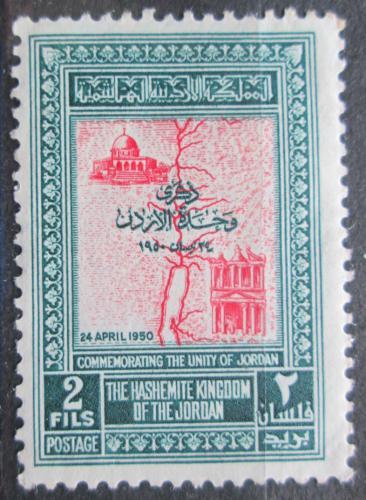 Poštovní známka Jordánsko 1952 Jordánská jednota Mi# 243