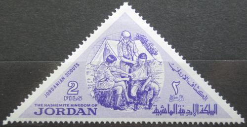 Poštovní známka Jordánsko 1964 Skauti Mi# 483