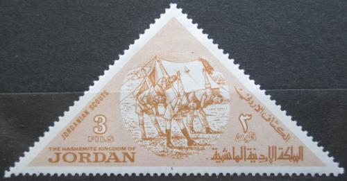 Poštovní známka Jordánsko 1964 Skauti Mi# 484