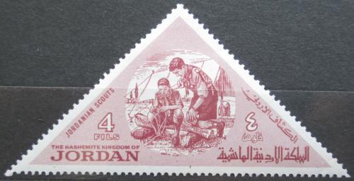 Poštovní známka Jordánsko 1964 Skauti Mi# 485