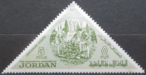 Poštovní známka Jordánsko 1964 Skauti Mi# 486
