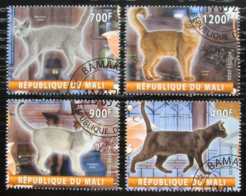Poštovní známky Mali 2020 Koèky Mi# N/N