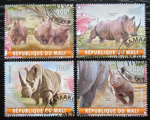 Poštovní známky Mali 2020 Nosorožci Mi# N/N