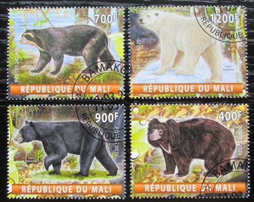 Poštovní známky Mali 2020 Medvìdi Mi# N/N