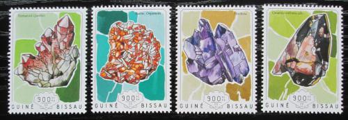 Poštovní známky Guinea-Bissau 2014 Minerály Mi# 7366-69 Kat 14€