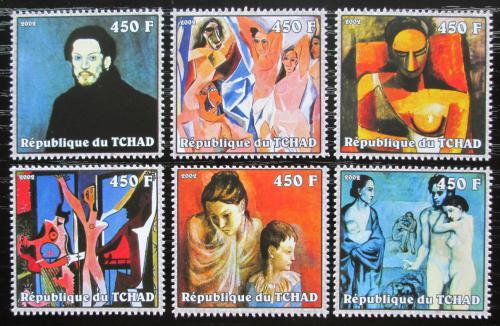 Poštovní známky Èad 2002 Umìní, Pablo Picasso Mi# 2358-63 Kat 13€