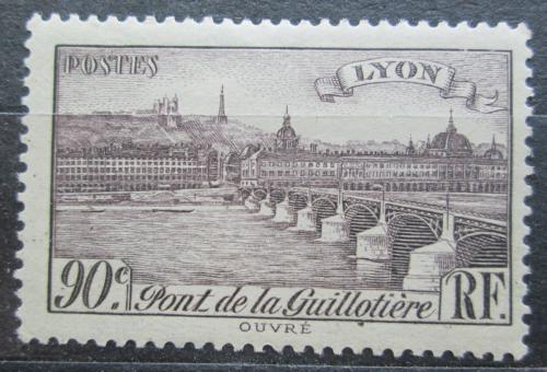 Poštovní známka Francie 1939 Most v Lyonu Mi# 463