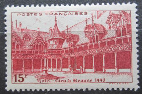 Poštovní známka Francie 1942 Nemocnice v Beaune Mi# 534