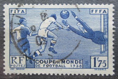 Poštovní známka Francie 1938 MS ve fotbale Mi# 427 Kat 7.50€