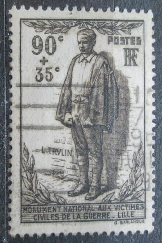Poštovní známka Francie 1939 Léon Trulin, partizán Mi# 438 Kat 9€