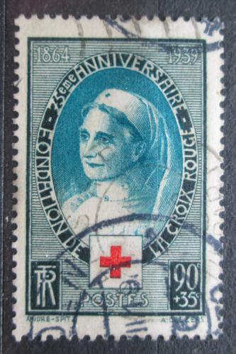 Poštovní známka Francie 1939 Èervený køíž, 75. výroèí Mi# 440 Kat 6€