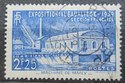 Poštovní známka Francie 1939 Historická èerpací stanice Mi# 449