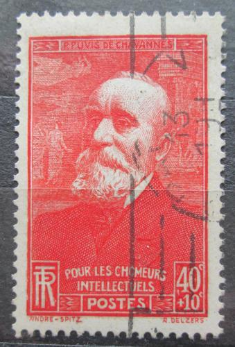 Poštovní známka Francie 1939 Pierre Puvis de Chavannes, malíø Mi# 450
