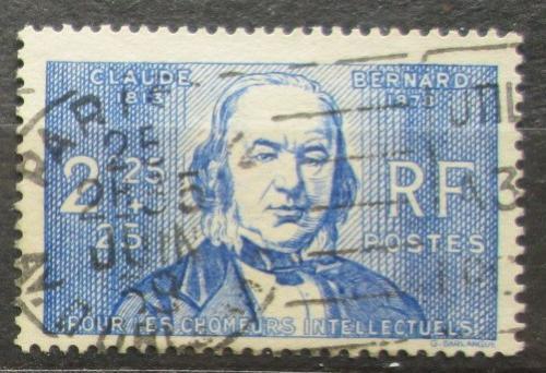 Poštovní známka Francie 1939 Claude Bernard, lékaø Mi# 453 Kat 7.50€