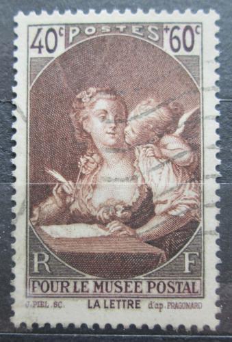Poštovní známka Francie 1939 Umìní, Fragonard Mi# 461