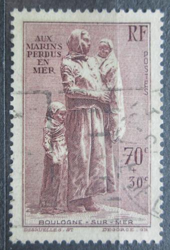 Poštovní známka Francie 1939 Socha, Félix-Alexandre Desruelles Mi# 462 Kat 14€