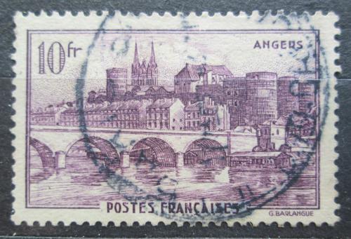 Poštovní známka Francie 1941 Most v Angers Mi# 533