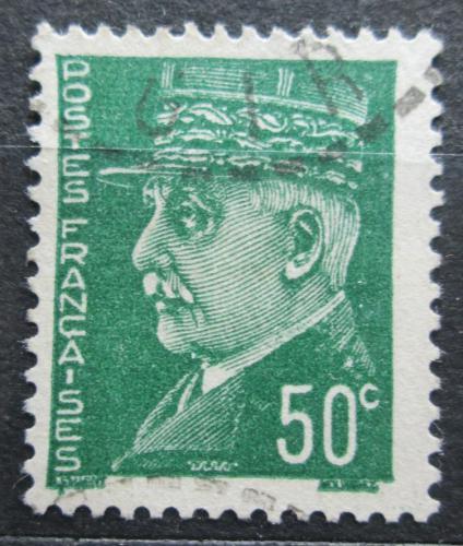 Poštovní známka Francie 1941 Maršál Philippe Pétain Mi# 515