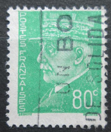 Poštovní známka Francie 1942 Maršál Philippe Pétain Mi# 520