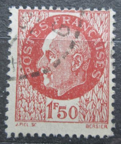 Poštovní známka Francie 1942 Maršál Philippe Pétain Mi# 524