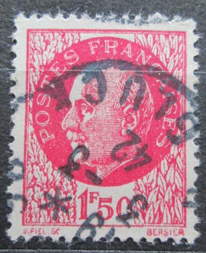 Poštovní známka Francie 1941 Maršál Philippe Pétain Mi# 523