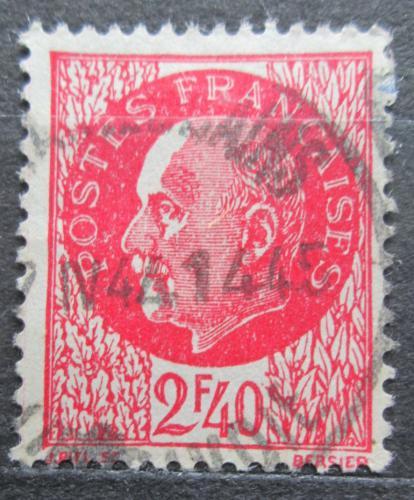 Poštovní známka Francie 1942 Maršál Philippe Pétain Mi# 526