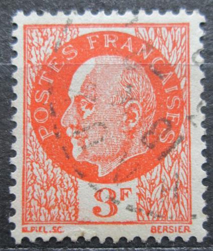 Poštovní známka Francie 1941 Maršál Philippe Pétain Mi# 528