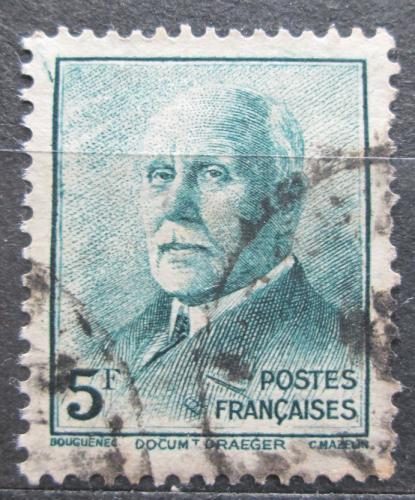 Poštovní známka Francie 1942 Maršál Philippe Pétain Mi# 531