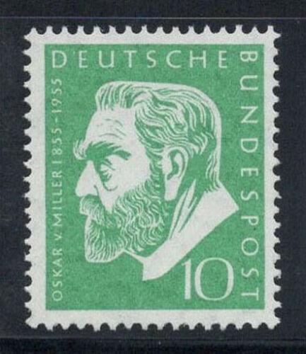 Poštovní známka Nìmecko 1955 Oskar von Miller Mi# 209 Kat 6€