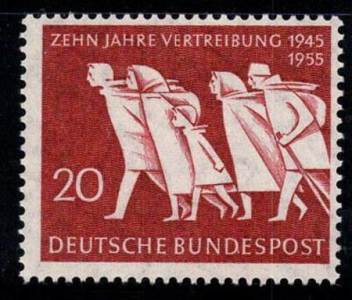 Poštovní známka Nìmecko 1955 Odsun, 10. výroèí Mi# 215 Kat 4.50€