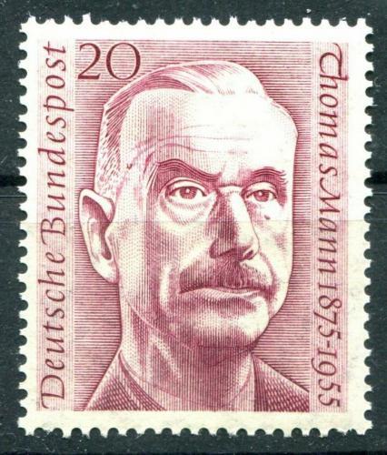 Poštovní známka Nìmecko 1956 Thomas Mann, spisovatel Mi# 237 Kat 3.50€