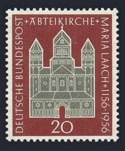 Poštovní známka Nìmecko 1956 Opatství Maria Laach Mi# 238