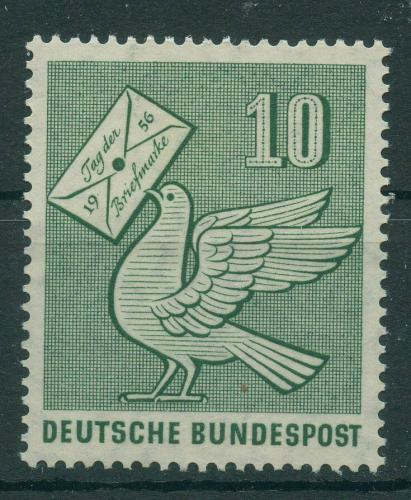 Poštovní známka Nìmecko 1956 Den známek Mi# 247