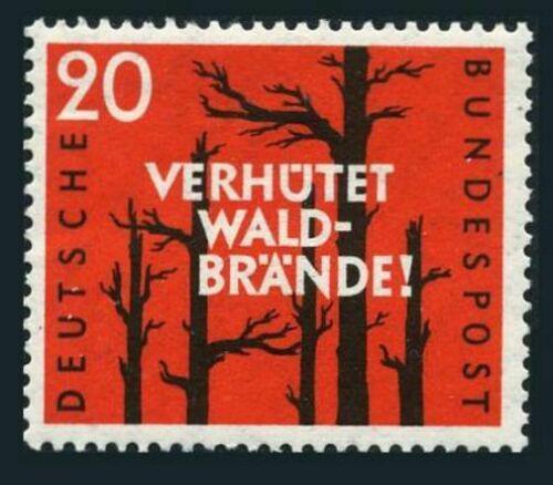 Poštovní známka Nìmecko 1958 Prevence lesních požárù Mi# 283